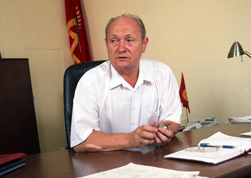 Экс-мэр города Бишкек Борис Силаев.