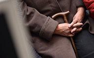Пенсионер. Архивдик сүрөт