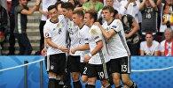 Игроки сборной Германии. Архивное фото