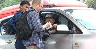Чет элдик жаранды бишкектик таксисттер алдайбы — социалдык эксперимент