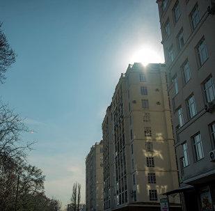Утро в Бишкеке. Архивное фото