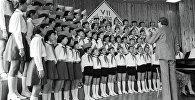 Детский хор в музыкальной школе. Архивное фото