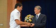 Награждение спортсменов КР президентом Атамбаевым