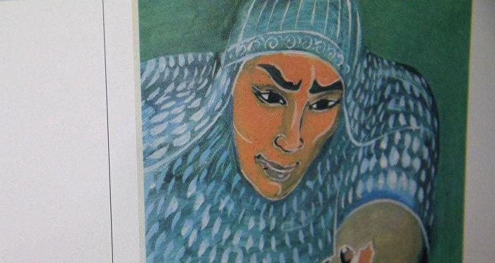 Эр Төштүк чыгармасынан иллюстрация. Архив