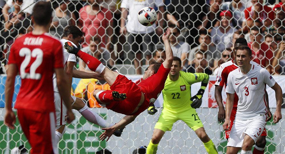 Футбол. Чемпионат Европы - 2016. Матч Швейцария - Польша