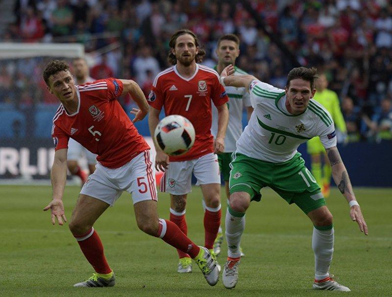 Футбол. Чемпионат Европы — 2016. Матч Уэльс — Северная Ирландия