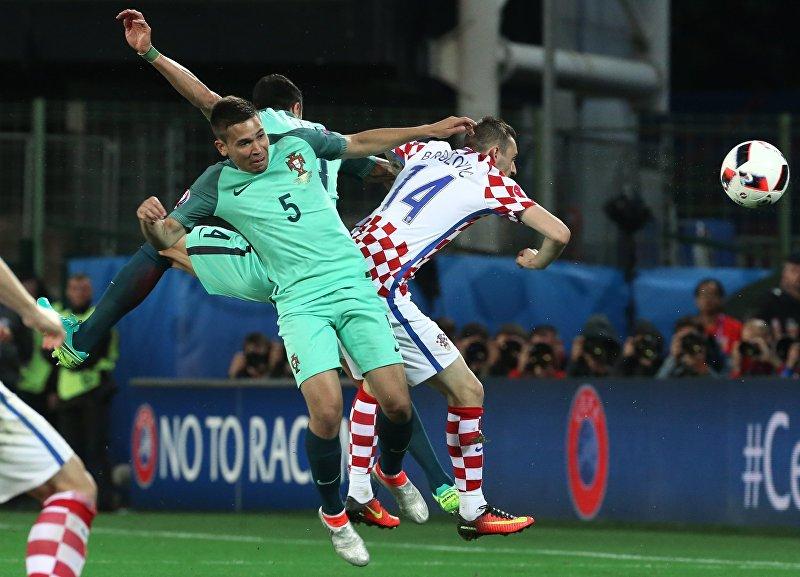 Футбол. Чемпионат Европы — 2016. Матч Хорватия — Португалия