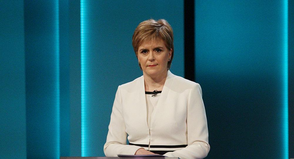 Первый министр Шотландии Никола Стерджен. Архивное фото