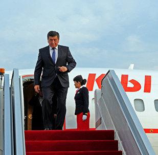 Кыргызстандын премьер-министри Сооронбай Жээнбеков. Архив