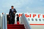 Премьер-министр Кыргызской Республики Сооронбай Жээнбеков. Архивное фото