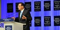 Кытай Эл Республикасынын премьер-министри Ли Кэцян Жайкы Давос — 2016 дүйнөлүк экономикалык форумда
