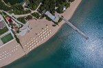 Пляжный сезон на Иссык-Куле