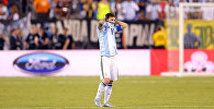 Аргентина курама командасынын чабуулчусу Лионель Месси Америка Кубогунун финалдык беттешинде