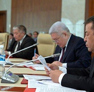 Глава социал-демократической партии Чыныбай Турсунбеков. Архивное фото