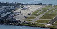 Вид на Международный аэропорт в Рио-де-Жанейро. Архивное фото