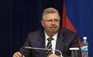 Глава Федеральной таможенной службы РФ Андрей Бельянинов на заседании. Архивное фото