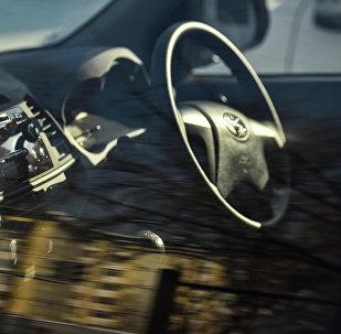 Праворульный автомобиль. Архивное фото
