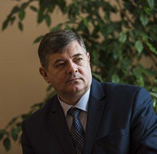 Архивное фото вице-премьер министра Кыргызстана Олега Панкратова