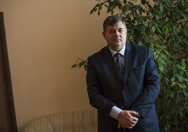 Министр экономики Олег Панкратов. Архивное фото