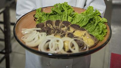 Национальное блюдо Казы-карта