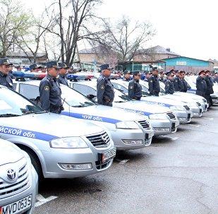 Сотрудники Патрульной милиции. Архивное фото