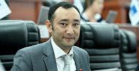 Жогорку Кеңештин КСДП фракциясынын депутаты Музаффар Исаков