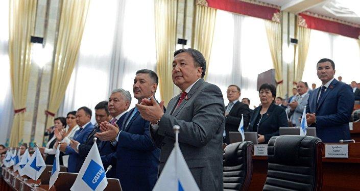 ЖК депутаттары. Архивдик сүрөт