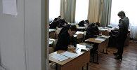 Урок в средней школе. Архивное фото