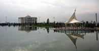 Вид на здания в Душанбе. Архивное фото