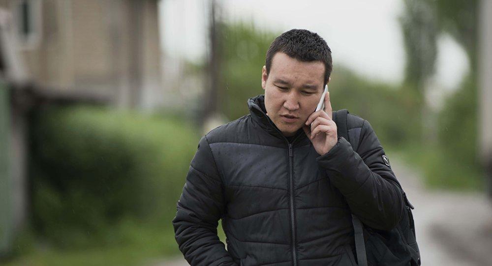 Корреспондент информационного агентства и радио Sputnik Кыргызстан Эркин Алымбеков. Архивное фото