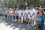 Бишкекте учетто турган балдар арасында спартакиада башталды