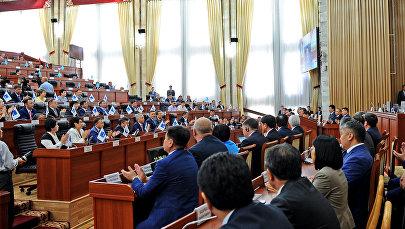 Депутаты на заседании ЖК. Архивное фото