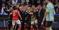 Футбол. Чемпионат Европы — 2016. Матч Уэльс — Бельгия