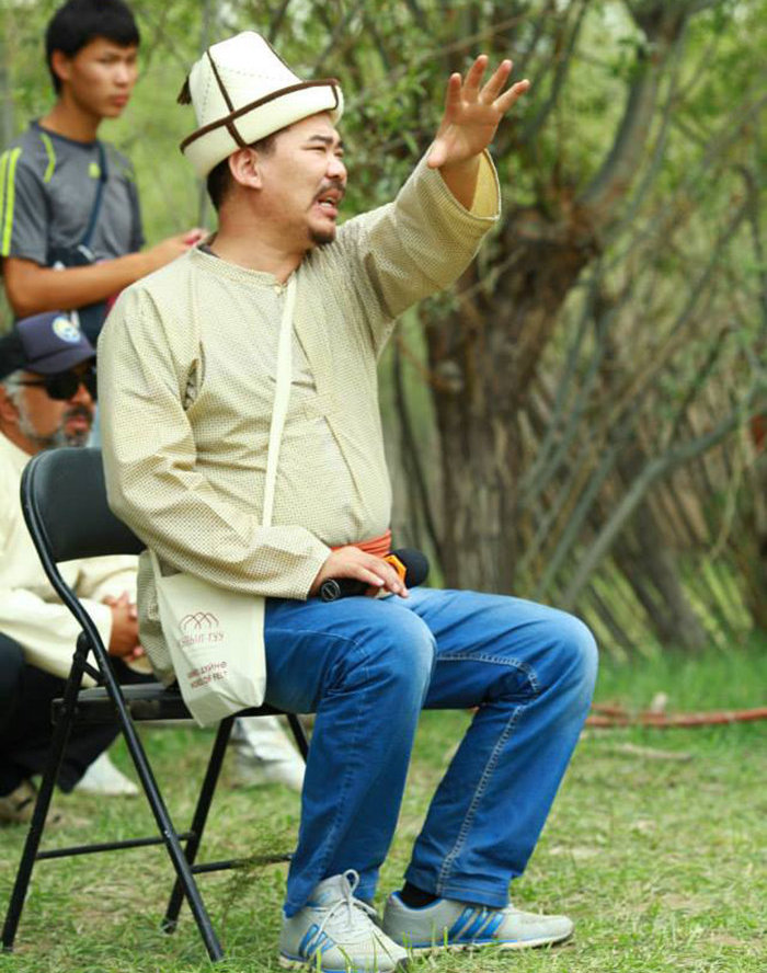 Министр культуры, информации и туризма Кыргызской Республики Максутов Алтынбек. Архивное фото
