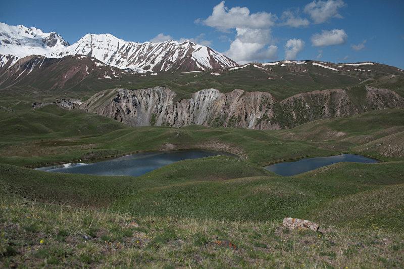 Горные озера, образовавшиеся после таяния ледников