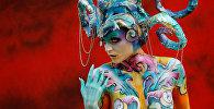 Ежегодный фестиваль бодиарта в Австрии