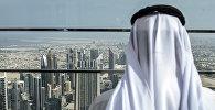 Дубай шаарынын жашоочусу. Архивдик сүрөт