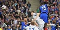 Франциянын курама командасы чейрек финалда исландиялыктар менен