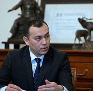 Архивное фото вице-премьер-министра по силовому блоку Темира Джумакадырова