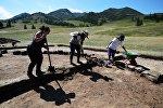 Археологиялык казуулар. Архив