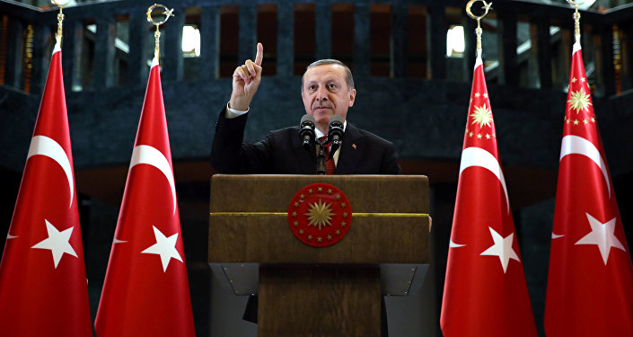Президент Турции Тайип Эрдоган. Архивное