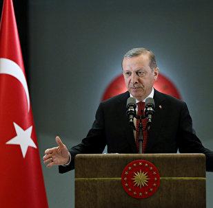 Түркиянын президенти Режеп Тайип Эрдоган . Архив