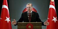 Түркия мамлекет башчысы Режеп Тайип Эрдогандын архивдик сүрөтү