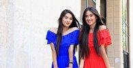 Интервью с актрисами и сёстрами-близнецами Мединой и Мадиной Талипбековами