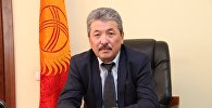 Министр финансов Кыргызской Республики Касымалиев Адылбек Алешович. Архивное фото
