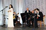 Церемония закрытия Дней культуры России в Кыргызстане
