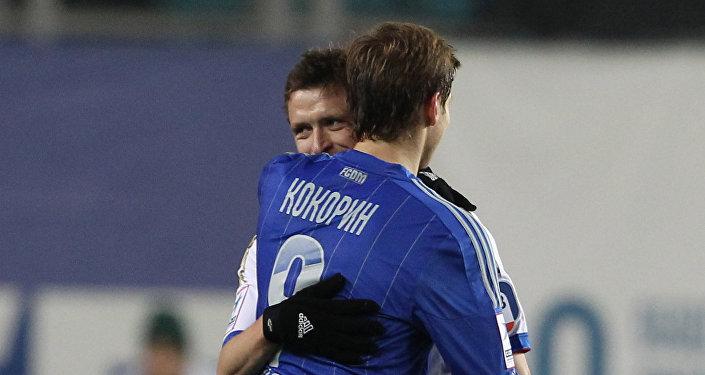 Футболисты Александр Кокорин и Павел Мамаев. Архивное фото