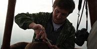 Уральский парикмахер подстриг клиента в полете на воздушном шаре