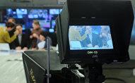 Студия телеканала. Архивное фото