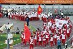 Якутияда өтүп жаткан Азия балдары-2016 эл аралык спорт оюндарында кыргызстандык спортчулар. Архив